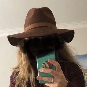 Brown Rag & Bone Hat